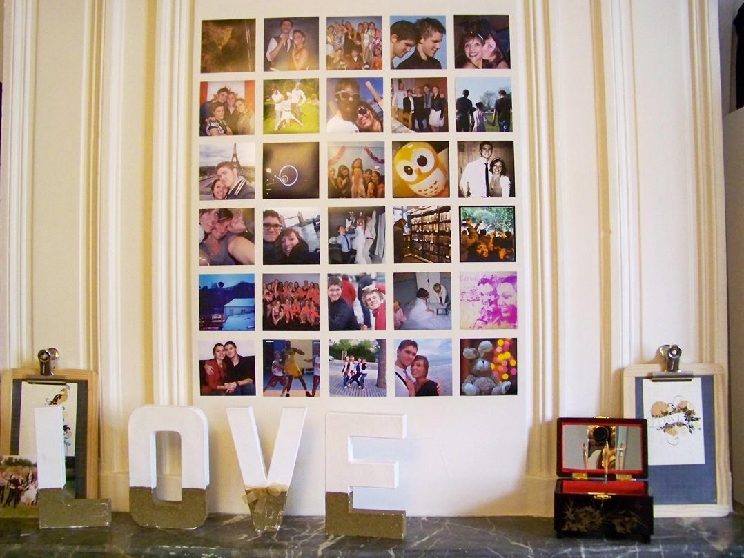 Décorer Son Mur Avec Des Photos décorer un mur avec polagram | mat'm - le blog